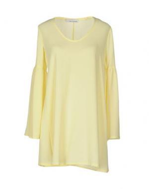 Блузка CHILI PEPPERS. Цвет: желтый