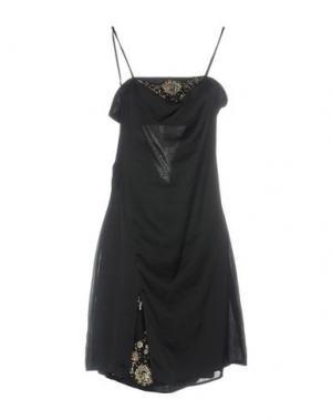 Платье до колена AB/SOUL. Цвет: черный