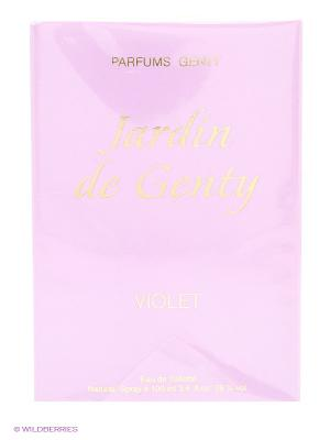 JARDIN DE GENTY VIOLET EDT 100 ML SPRAY PARFUMS. Цвет: прозрачный