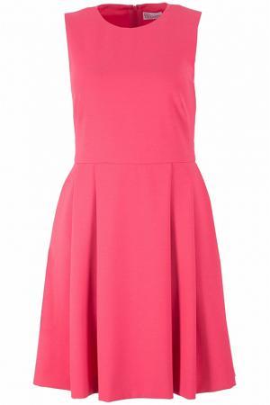 Платье Valentino Red. Цвет: коралловый