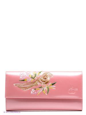 Кошелек WB. Цвет: розовый