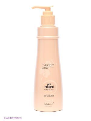 Кондиционер корректирующий биобаланс ослабленных волос SATICO Premium Style Pro Care Works. Цвет: бежевый