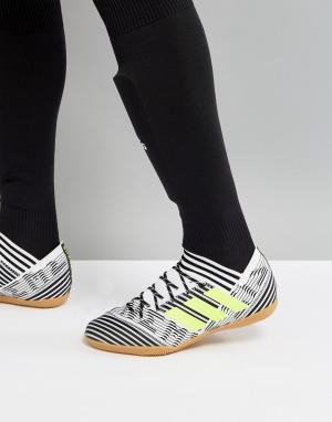 Adidas Белые ботинки Football Nemeziz Tango 17.3 BB3653. Цвет: белый