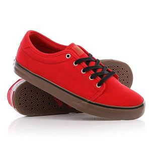 Кеды кроссовки  Santa Fe Red/Gum Dekline. Цвет: красный