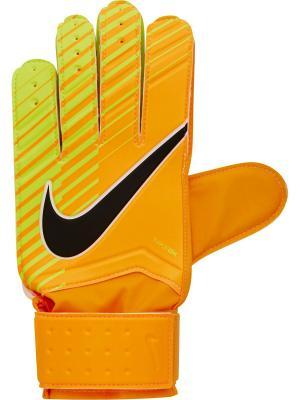 Вратарские перчатки NK GK MTCH Nike. Цвет: оранжевый