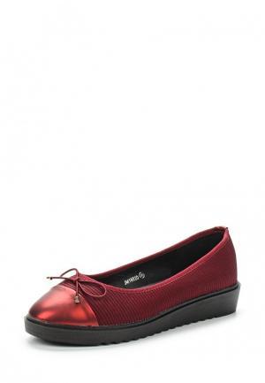 Туфли Guapissima. Цвет: бордовый