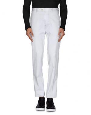 Повседневные брюки GERMANO. Цвет: светло-серый