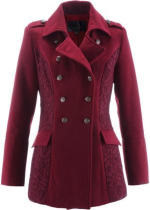 Куртка (кленово-красный) bonprix. Цвет: кленово-красный