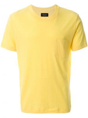 Space Echo T-shirt  Howlin Howlin'. Цвет: жёлтый и оранжевый