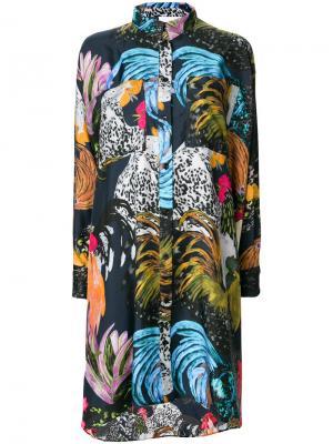 Платье Debbie Reality Studio. Цвет: многоцветный