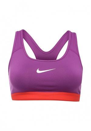 Топ спортивный Nike. Цвет: фиолетовый