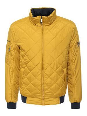 Куртка Finn Flare. Цвет: горчичный