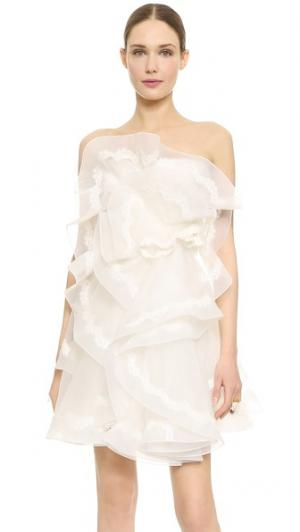 Платье First Love Reem Acra. Цвет: золотой