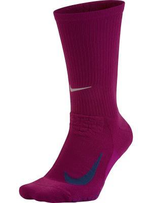 Носки Nike. Цвет: фиолетовый, синий