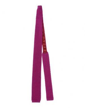 Галстук GALLIENI. Цвет: пурпурный