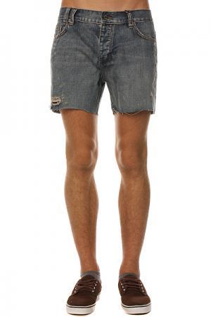 Джинсовые мужские шорты  Jagered Mid Blue Classic Insight. Цвет: голубой