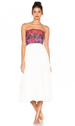 Платье cathy Love Sam. Цвет: кремовый