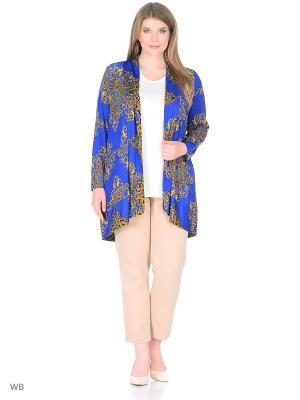 Блузка BERKLINE. Цвет: синий