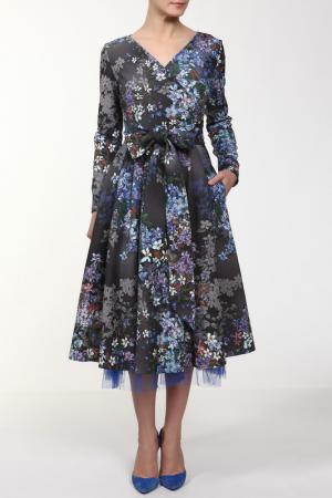 Платье Kamilla NATALIA PICARIELLO. Цвет: серый