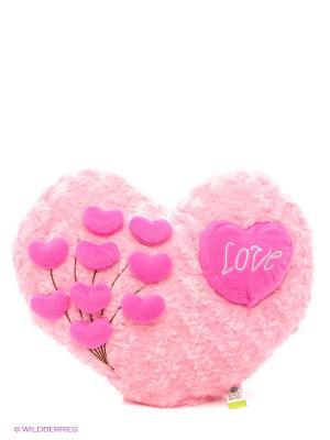 Подушка Признание в любви Lapa House. Цвет: розовый