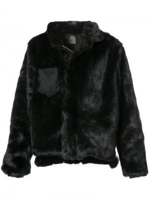 Куртка на молнии Siki Im. Цвет: чёрный