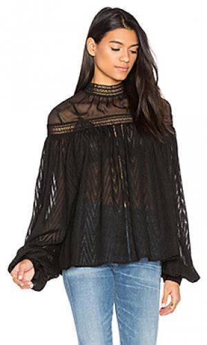 Блузка barton Acler. Цвет: черный