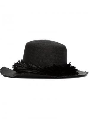 Шляпа Brigette Gigi Burris Millinery. Цвет: чёрный