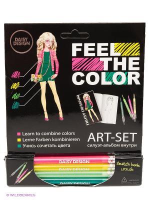 Альбом Lotus of FEEL THE COLOR Daisy Design. Цвет: розовый