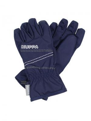 Перчатки для детей KEREN HUPPA. Цвет: темно-синий