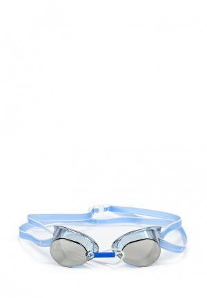 Очки для плавания MadWave. Цвет: голубой