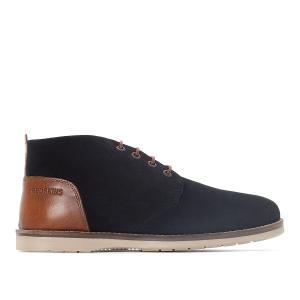 Ботинки-дезерты кожаные BALMON REDSKINS. Цвет: темно-синий