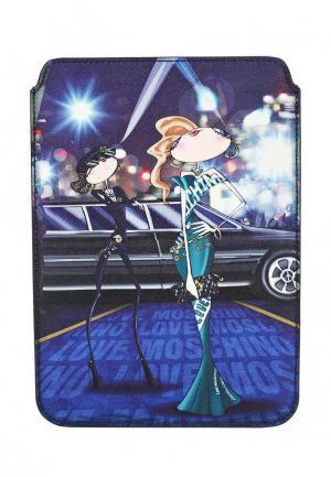 Чехол для iPad Love Moschino. Цвет: синий