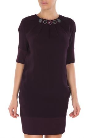 Платье Via delle Perle. Цвет: фиолетовый