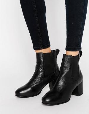 Park Lane Ботинки челси на среднем каблуке. Цвет: черный