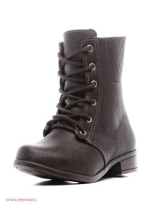 Ботинки Klin. Цвет: темно-коричневый