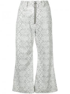 Расклешенные брюки G.V.G.V.. Цвет: серый