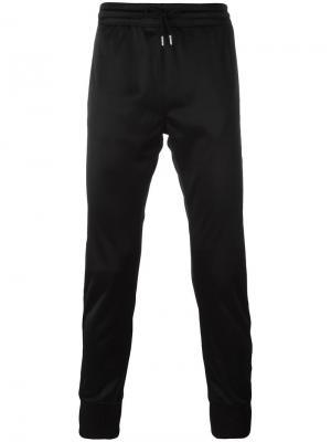 Спортивные брюки с логотипом Les (Art)Ists. Цвет: чёрный