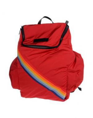 Рюкзаки и сумки на пояс DSQUARED2. Цвет: красный