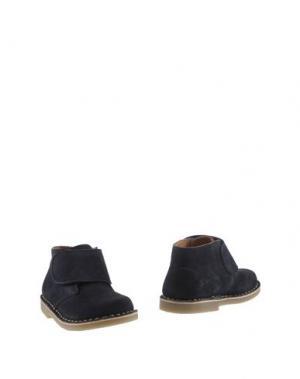 Полусапоги и высокие ботинки OCA-LOCA. Цвет: темно-синий