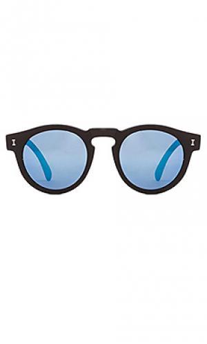 Солнцезащитные очки leonard ii illesteva. Цвет: черный