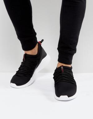 Jordan Черные кроссовки с застежкой-тогл Nike Formula 23 908859-001. Цвет: черный
