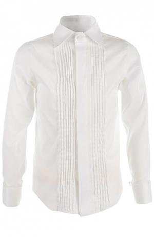 Рубашка Dal Lago. Цвет: белый