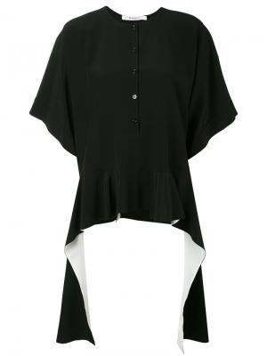 Топ с расклешенным подолом Givenchy. Цвет: чёрный