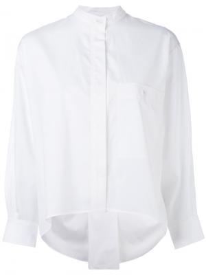 Классическая рубашка Veronique Leroy. Цвет: белый