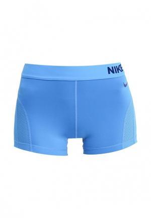 Шорты спортивные Nike. Цвет: голубой