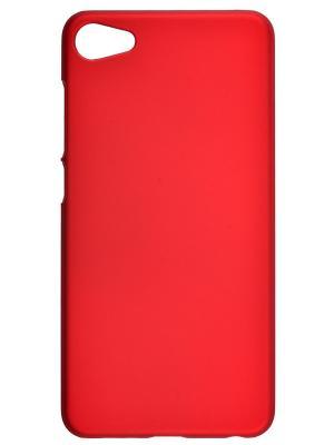 Накладка skinBOX Shield  4People для Meizu U10. Цвет: красный