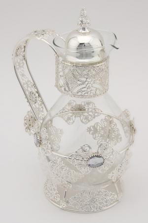 Чайник Marquis. Цвет: серебристый, прозрачный