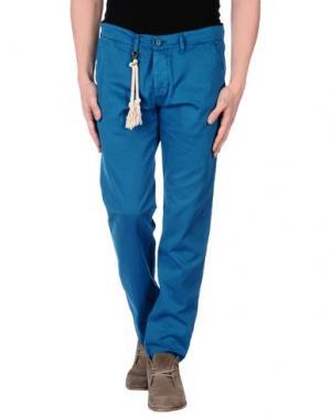 Повседневные брюки BASICON. Цвет: цвет морской волны