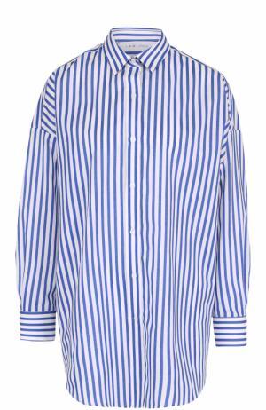 Блуза свободного кроя в контрастную полоску Iro. Цвет: разноцветный