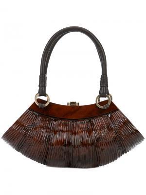 Маленькая сумка-тоут Collette Rocio. Цвет: коричневый
